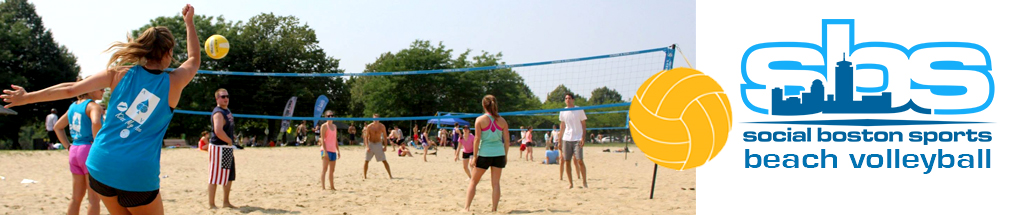 Boston beach volleyball leagues
