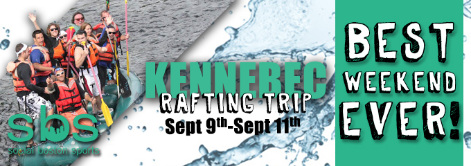 Kennebec River Rafting Trip Flyer